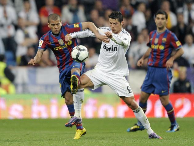 Dani Alves, Cristiano Ronaldo